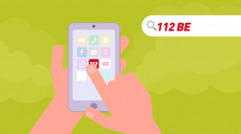 "app 112 BE: ""The life-saving app"""